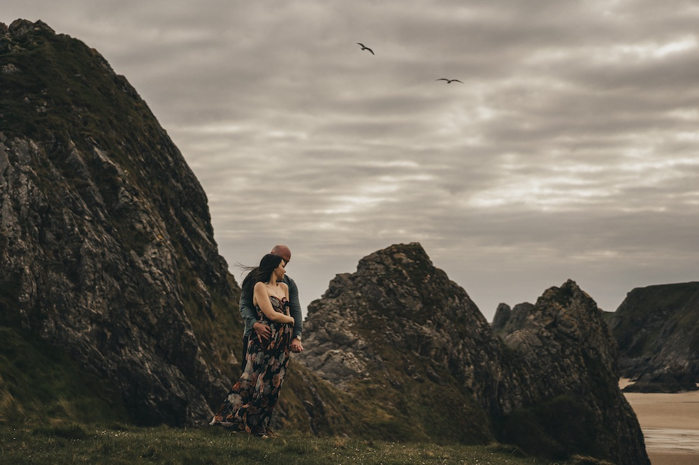 Three Cliffs Bay Engagement photos | Pre wedding session