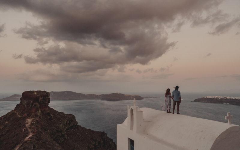 SANTORINI LOVE WORDS | PRE WEDDING VIDEO FILM