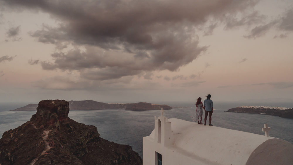 SANTORINI LOVE WORDS | PRE WEDDING VIDEO FILM