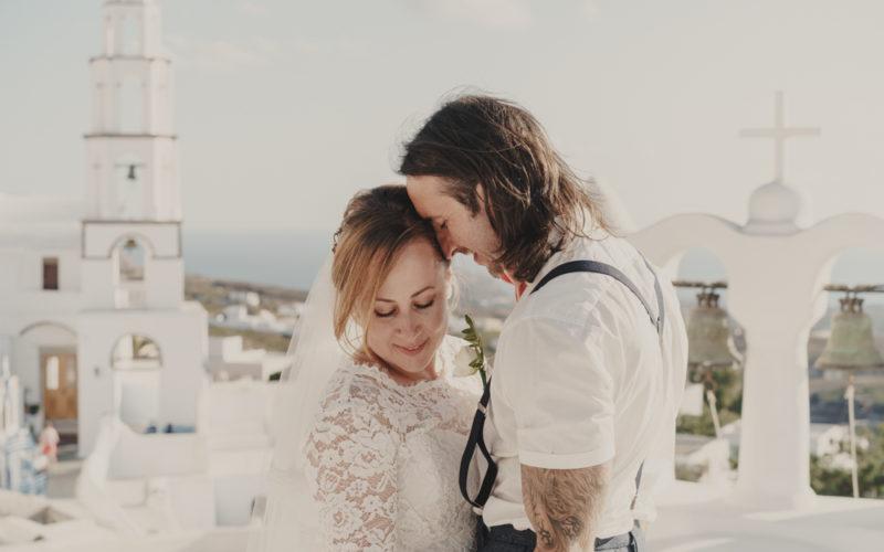 Santorini Wedding Film | Suites of the Gods
