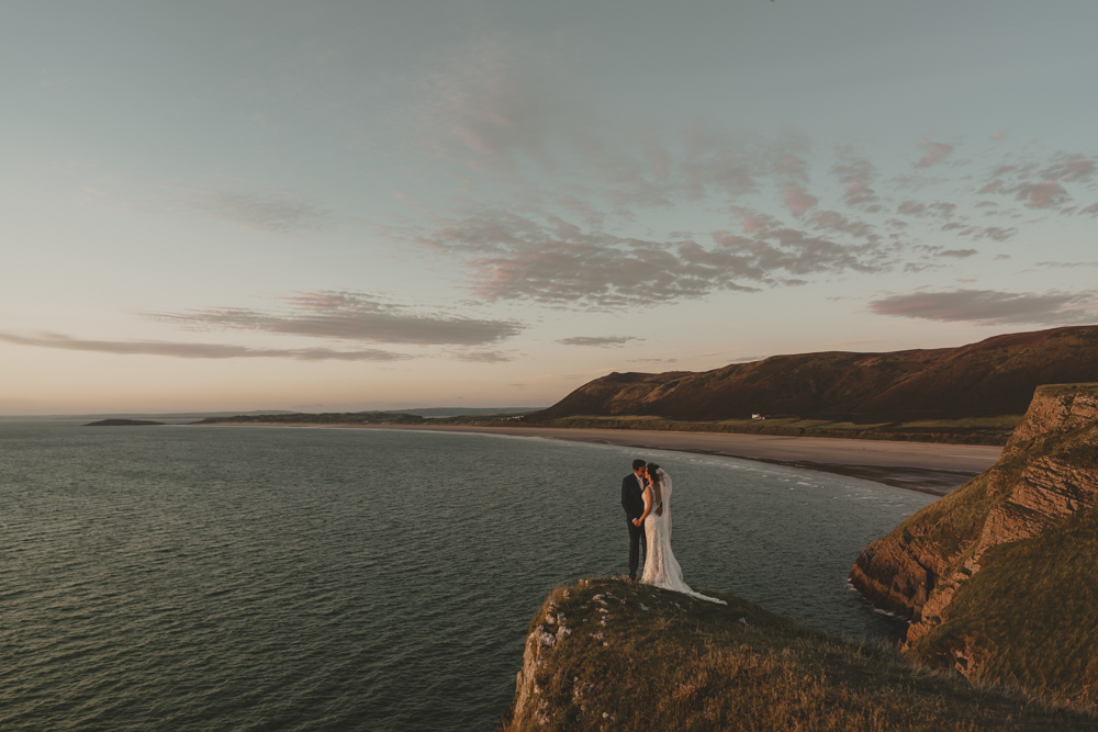Oldwalls Fairyhill Gower Wedding Photography Rachel & Dan