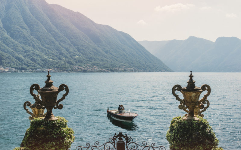Villa Del Balbianello Lake Como Elegant Wedding Photography