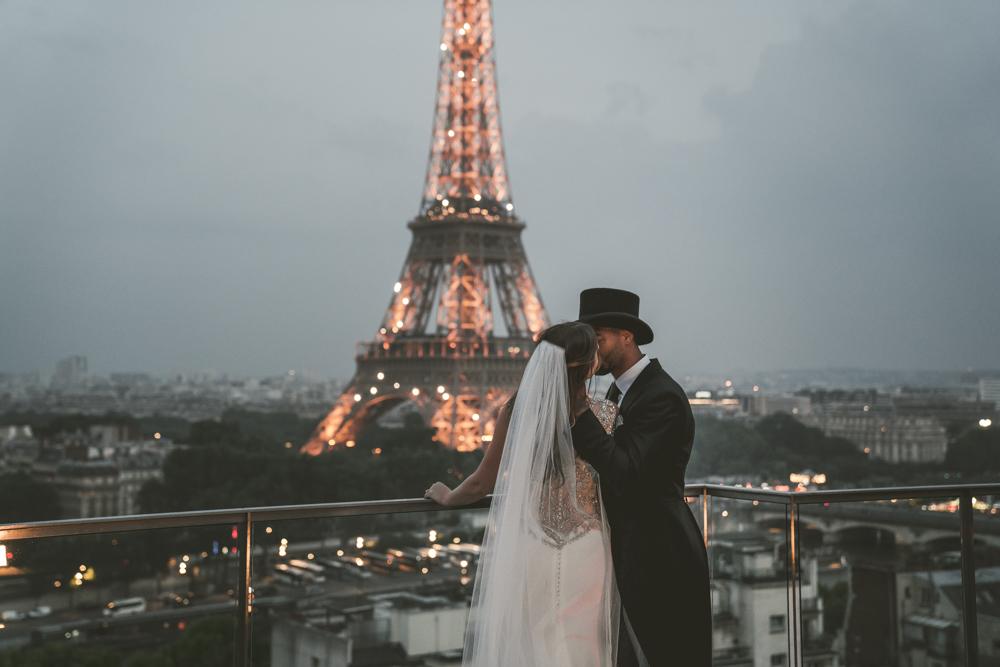Wedding Photographer Paris Shangri-La Hotel