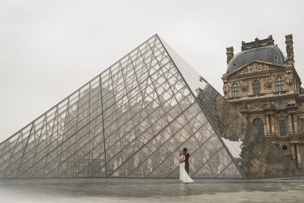 Paris wedding videographer Shangri-La Hotel