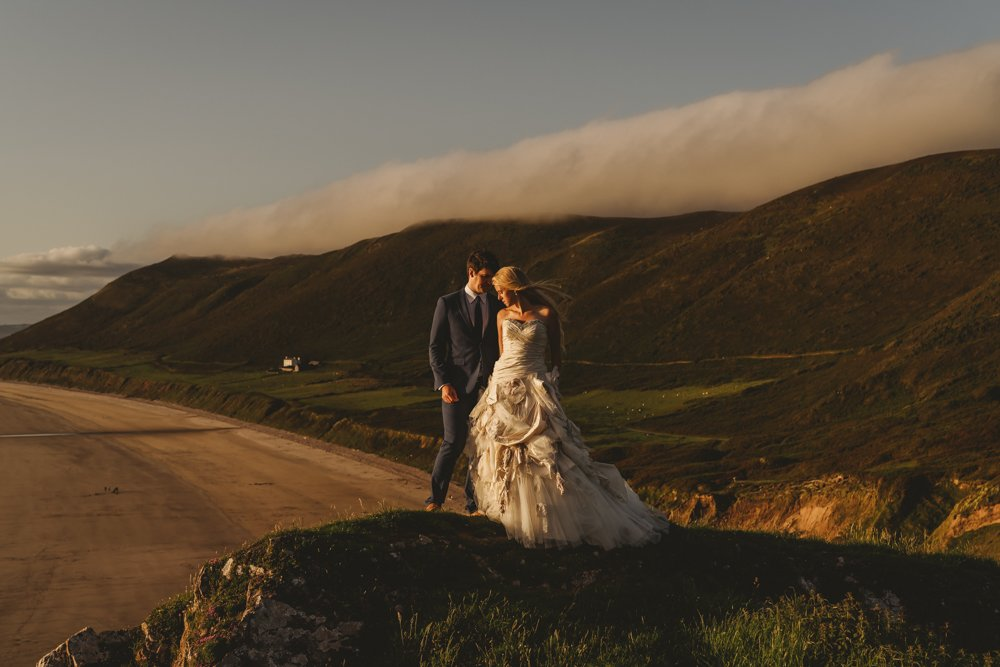 Gower Elopement Style Wedding, South Wales