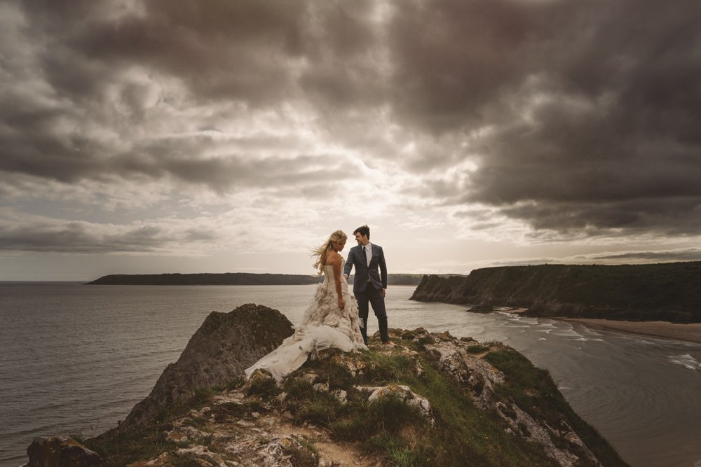 gower elopement wedding photography